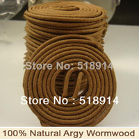 Wholesale Natural Artemisia Argyi Health Argy Wormwood Incense Coils Hs Herbal Incense Antiseptic Mosquito Repellent Anti Odour