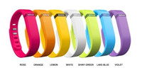 Wholesale Replacement rubber Band WITH Clasps for Fitbit Flex NoTracker only rubber band Large and Small size