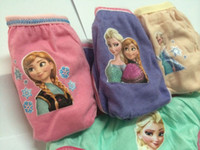 Wholesale Frozen New Children Panties Hot Sell Frozen Underwear Frozen Briefs styles Bag Sizes For Y Girls Panties