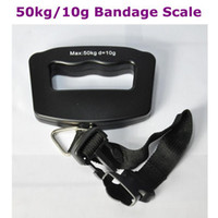 Cheap Wholesale - 50kg 10g Portable LCD Digital Electronic Hanging Luggage Fishing Weighing Bandage Scale Free Shipping