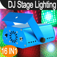 Wholesale DJ Laser Stage Lighting Light Disco Party Club IN1 J519