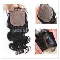 Cheap silk base top closure Best human lace closure