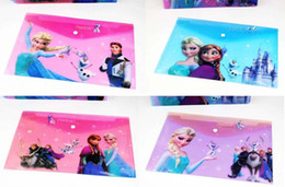 New Sale 24 Pcs lot 4 Style Cartoon Frozen cartoon envelope paper bag Party Supplies Favors