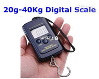 Cheap Wholesale - 20g-40Kg Digital Hanging Luggage Fishing Weight Scale
