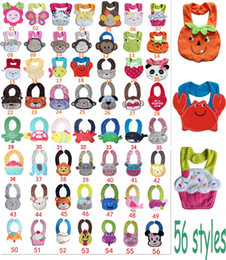 Wholesale 2016 baby bibs Styles In Stock Terry Cloth layer fashion bibs for boys and Girls five pointed star cotton bibs free ship