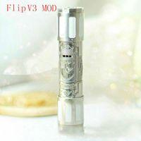 adjustable tube - WL EC Full Mechanical Clone Flip Mod Flip Tronix V3 Tronix Mod Mods Tube Electronic Cigarette Vaporizer