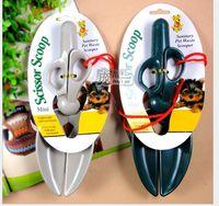 Wholesale scissor clamp new pet will pick up the shovel dog toilet toilet dog feces folder class supplies