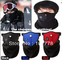 Wholesale Free dhl New best seller Neoprene Neck Warm Half Face Mask Winter Veil For Sport Bike Bicycle Motorcycle Ski Snowboard