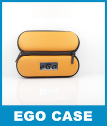 Color Dark Yellow Zipper Ego Bag & Case for Ego Kit Ego Electronic Cigarette E-cigarette