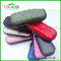 Cheap Wholesale - Ego case ego leather bag electronic cigarette carry bag 9 colors with Zipper New material great quality