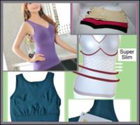 Cheap 100Pcs lot Women shaper Vest Shaping Underwear Fat Burning Seamless Body Sculpting shapewear sexy body shaper vest M29