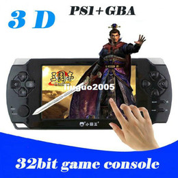Wholesale quot Touch Screen Ultra thin Bit Handheld Games Consoles D Game Player GB PMP ps1