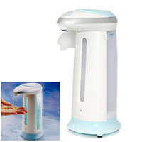 Wholesale 400ml Capacity Automatic Soap and Sanitizer Dispenser with ABS Plastic HHC_113