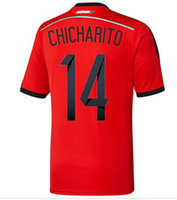 Wholesale World Cup Mexico Away Chicharito Soccer Wears Mans Jerseys Hot Sale Thailand Soccer Jerseys Customize Soccer Jerseys New Arrival