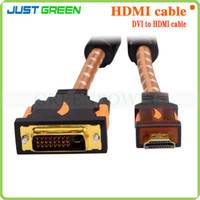 Wholesale Free DHL HDMI Converter to DVI or DVI to HDMI Converter ConerTwo Change Direction For TV TV Box DVD Protector etc