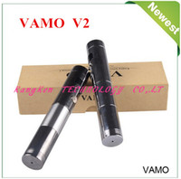 E Cigarette Set Series white Vamo V2 Original factory Vamo V2 Mechanical Mod Varies Voltage 2200mAh Provari VV e cigarette 3-6V electronic ciagarette DHL