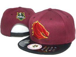 Wholesale 2016 Brisbane Broncos NRL team hats AFL Snapback Caps Sport baseball hats Man snapback hats DD
