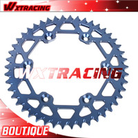 Cheap 520 Motorcycle Aluminum Rear Sprocket 49T For YAMAHA WR YZ 125 250 450 400