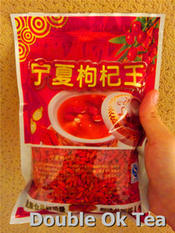 Wholesale New Chinese Organic Dried Goji Berries g Pure Bags g Goji Berry Ningxia Herbal Tea Personal Care Goqi Food Wolfberry Medlar