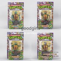 Roles action figures vintage - Vintage MOC Playmates TMNT Teenage Mutant Ninja Turtles Leonardo Action Figure set of MVFG075