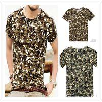 mens clothes designer - Mens Short T Shirt Men Print Designer clothes Amy Green Cotton