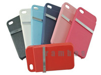Cheap Hard Plastic Credit Card Phone Case Cover for iPhone 4 4s