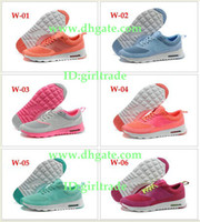 Wholesale 18Colors Drop Shipping Famous Thea Print Glacier Ice women s sports running shoes Max trainers