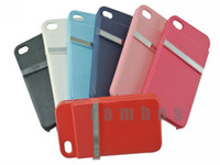 Cheap Credit Card Hard Plastic Cover Cell Phone Cases for iPhone 4 4s