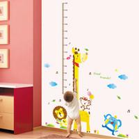 Wholesale Child height ruler doll height stickers baby height measurement scale child real decoration height