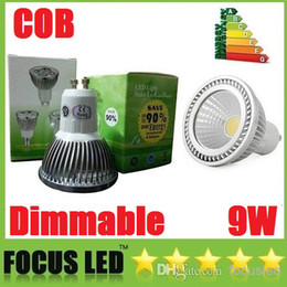 Ultra brillante 9W COB Led Bombillas GU10 E27 E26 GU5.3 regulable Led Foco de techo caliente / Natural / blanco frío 110-240 V + CE ROHS UL CSA desde fabricantes