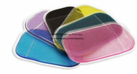 Wholesale New Sticky Mat Anti Slip Pad Car Dashboard Stand Holder for iPhone S G S HTC Samsung GPS Phone Pad MOQ