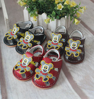Wholesale New Arrival Colors Baby Sandals PVC Kids Prewalkers For Boys and Girls pairs
