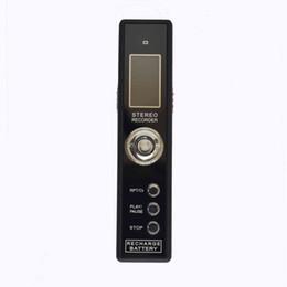 Wholesale CE FCC ROHS Rechargeable GB PCM Recording VOR Digital Audio Voice Recorder Dictaphone Mini Pen USB MP3 Player Black With Retail Box
