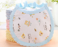 Wholesale NEW baby bibs cotton Lunch Bibs Towel Saliva Baby Kids Infants Cute Bibs cute print cotton bibs size cm x cm
