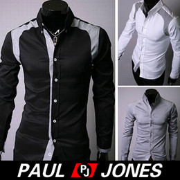 Wholesale PJ Men s Casual Slim line Stylish Dress Shirts Size CL2296