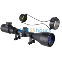 Cheap New 3-9x56E Red Green Air Rifle Gun Mil-dot Illuminated Optics Sniper Hunting Scope Free Shipping