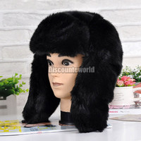 Wholesale New Arrival Unisex Mens Ladies Winter Warm Thermal Ski Faux Fur Russian Trapper Ushanka Hat fx258