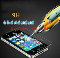 Wholesale Tempered Glass LCD Screen Film D Shatter amp Scratch Proof PROTECTOR Screen Guard FOR IPHONE S G S C S3 S4 S5 NOTE2 NOTE3