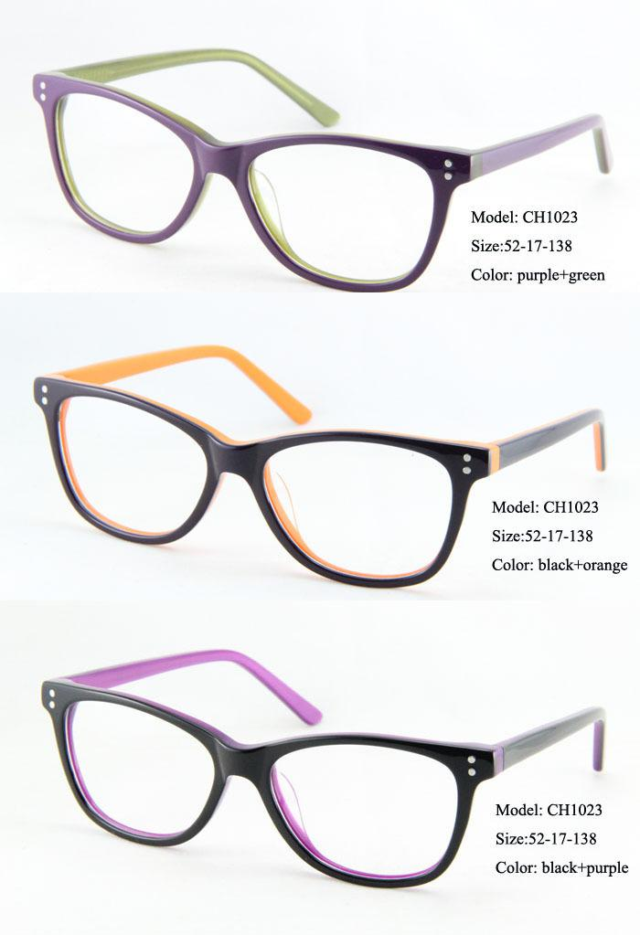 eye wonder wholesale womens retro acetate glasses frames vintage optical frames designer glasses lunettes gafas