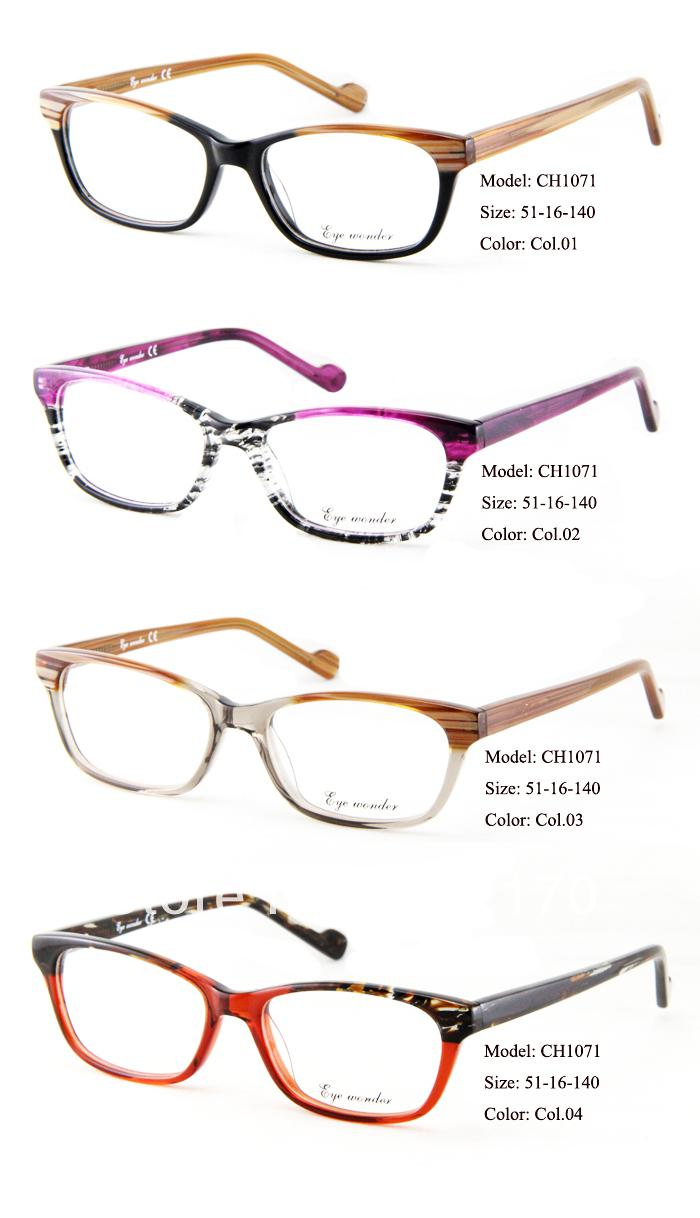 2014 new arrivals fashion glasses brand designer frames women glasses eyewear optical frames myopia glasses women bril gafas visionworks frames wood