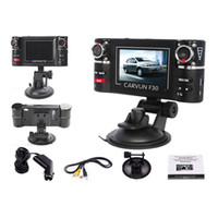 Wholesale S5Q HD Car DVR Camera Vehicle DVR Dual Lens Dash Cam Video Recorder Night Vision SOS AAADKL