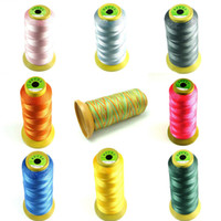 industrial material - Over locking Sewing Machine Industrial Dacron Thread Spools Cones For Bow String Material Cloth DIY Jewellry Colors For Choose