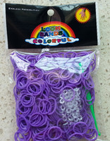 Wholesale best toys Rainbow loom rubber bands charms Silicone Rubber Bands package S hook Christmas gifts