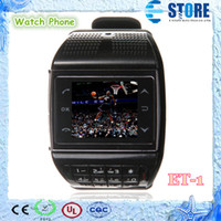 Wholesale Quadband Touch Screen AVATAR ET i watch mobile phones FM radio MP3 number keypad wrist cell phone M