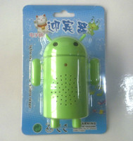 android entry - The Android Robot electron welcomes guests Wireless Entry Safety Security Alarm Welcome Door bell Hello welcome