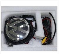 flip camera - VW Logo Flip Dedicated Super Clear Astern View Camera Car Rearview Cameras High Quality