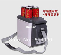 used refrigerators - 2014 piece Black Color Brand New l Mini Auto Refrigerator Auto Small Refrigerator Dual use Refrigerator Insulin Breast LM