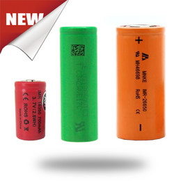 Genuine 18650 Batteries Vtc5 25r HG2 HE4 HE2 20A 30A 305A Rechargeable Batteries For Ecig Box Mod Fedex Free Shipping