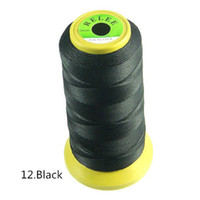 beaded textiles - Hot Sale Home Textiles Sewing Thread Woven Nylon Black Color Cord Jewelry Beaded DIY High Quality