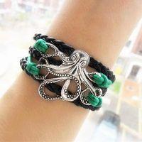 best bridesmaids gifts - Octopus Bracelet Antique silver Octopus Charm Bracelet Ocean bracelet Friendship gift Bridesmaid gift Best Chosen Gift